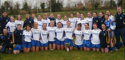 Ladies Senior B Winners 2008